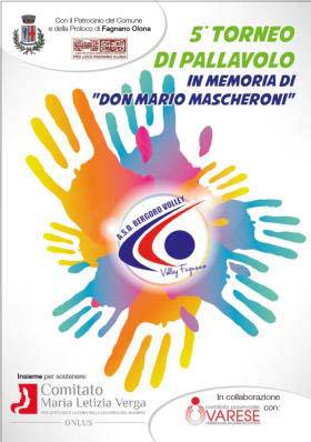 "5° Torneo di Volley ""Don Mario Mascheroni"""