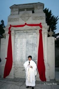 Inaugurazione dopo i restauri e la benedizione di Don Ivano Tagliabue