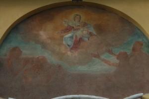 """Affresco della """"Madonna della Cintura"""""""