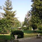 lo splendido giardino interno