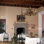 l'antica sala, oggi diventata un rinomato ristorante