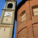 Il campanile e l'esterno dell'abside