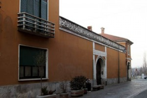 Veduta esterna di Villa Ferrari, su via Verdi