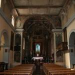 Veduta d'insieme della navata, verso l'altare