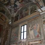 Parete Nord dell'abside e la volta