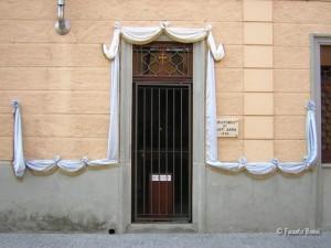 Ingresso dell'Oratorio di Sant'Anna