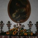 Dipinto raffigurante Sant'Anna con in braccio Maria