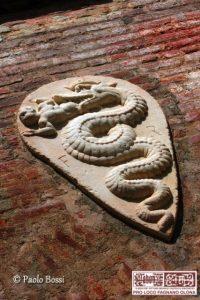 Stemma Visconteo nel Castello di Fagnano Olona