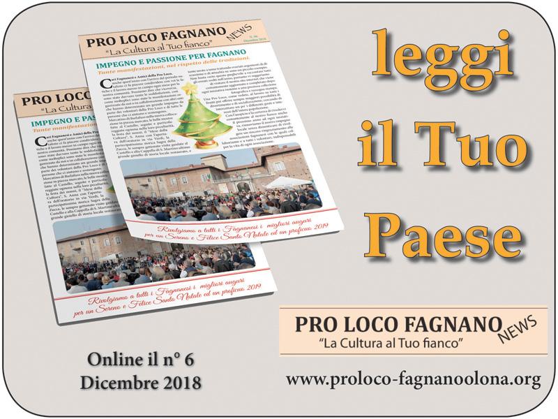 Pro Loco Fagnano NEWS