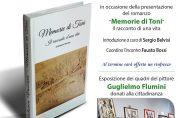 """Romanzo """"Memorie di Toni"""" di Antonio Vaccaro il 5/1"""