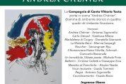 "Pièce teatrale ""Andrea Chénier"" il 5/4"