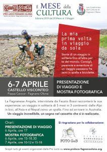 """Mostra fotografica """"La mia prima volta in viaggio da sola"""" il 6 e 7 aprile @ Castello Visconteo"""