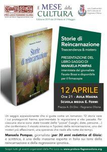 """""""Storie di Reincarnazione"""", libro di Manuela Pompas il 12/4 @ Aula Magna della scuola """"E. Fermi"""""""