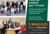 Reading poetico del Circolo Culturale l'Alba – 3 maggio
