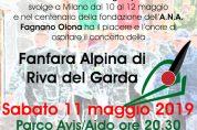 Concerto della Fanfara Alpina di Riva del Garda
