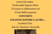 """Concerto """"Colonne sonore e altro…"""" il 27/10"""