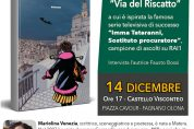 """Mariolina Venezia presenta """"Via del Riscatto"""" – 14/12"""