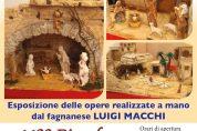 Presepi artistici di Luigi Macchi in mostra al Castello
