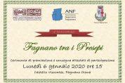 """Premiazione del concorso """"Fagnano tra i Presepi"""" 6/01"""