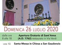 Festa di Sant'Anna 2020