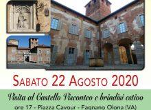 Aperitivo al Castello Visconteo il 22/08