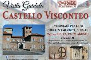 Visite guidate al Castello Visconteo i mercoledì sera di agosto