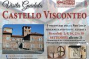 Visite guidate al Castello Visconteo i mercoledì sera di Settembre