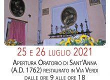 Festa di Sant'Anna 2021